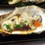 29017927 - おまかせの松(6000円・外税)の牡蠣ポン酢