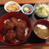 つちや - 料理写真:ソースかつ丼