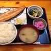 鍛冶家 - 料理写真:ほっけ塩焼定食750円
