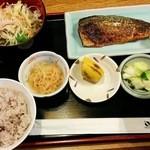 29050438 - 2014.7魚定食 やっと十穀米を食べられた!