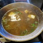 のんき亭 - トン汁