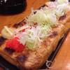 こし乃 - 料理写真:栃尾の油揚げに明太子トッピングw