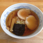 旬麺 - 焼干しラーメン(650円)