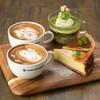 S.Cafe LINQ Agenogi - 料理写真:ラテアート