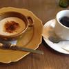 ぶりこ - 料理写真:ほうじ茶クリームブリュレとブレンド