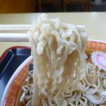 桂町 さっぽろ - 米沢ラーメン独特のこのちぢれ麺も好きです