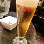 Cerdo y pato - 生ビール