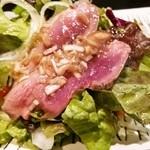 Cerdo y pato - 鴨胸肉のタタキ