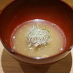 鮨 なかむら - つみれ汁