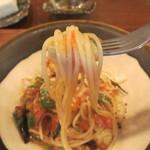 ラ・ルーチェ - 夏野菜のスパゲッティリフトアップ