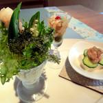 アチマチ - 前菜三種