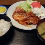 まるしめ食堂 - 料理写真:焼肉ライス