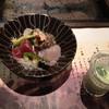 溶岩焼き 山ぼうし - 料理写真:お刺身と冷製スープ