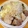 ラーメン いち大 - 料理写真:ラーメン(ニンニク少し アブラ)2014年7月