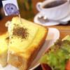 鷹匠茶屋 - 料理写真:みみずっくチーズトースト