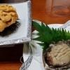 紀の国旅館 - 料理写真:赤ウニとアワビのお造り