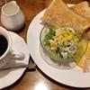 喫茶室たきざわ - 料理写真:モーニングトーストセット/ 600円