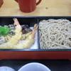 弥栄 - 料理写真:天もり蕎麦