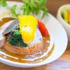 くまもり食堂 - 料理写真:A SET(カリー)【2014年6月】