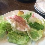 ヴィーコロ - ちょっと食べちゃったサラダ:p