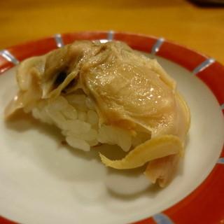 鮨 八や - 料理写真:煮ハマグリ。お塩でいただきます。