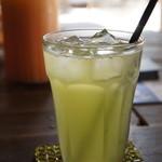 ドラゴン - 緑のチャイダー、緑茶・抹茶の爽やかなサイダーです