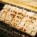 喜八洲総本舗 - みたらし団子は注文が入ってから焼いてくれます