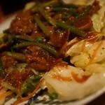 煮込みと惣菜 かん乃 - 牛焼肉炒め