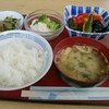 山王町食堂 - 料理写真:アジと夏野菜の黒酢和え・夏のポテトサラダ・ ほうれん草のおひたし