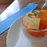 ロマラン洋菓子店 番町本店 - (パンナコッタを食べても)『太りませんように』(笑)