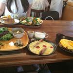 cafe zakka  hinatabocco - 7月のフォカッチャセット