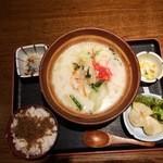 駒八 - ちゃんぽんとジャコご飯ランチ800円