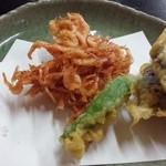 朋 - 桜海老と野菜のかき揚げ