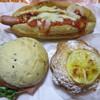 お菓子の郷 ジロー - 料理写真:サルサフランス、BLTサンド、レモンクロワッサン