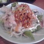 あぶくま亭 - ゆで豚の四川風サラダアップ