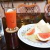 cafe21 - 料理写真:日替わりのモーニングは、エッグトーストサンドでした、ドリンク代プラス50円です