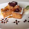 CAFE MAHHAMAN - 料理写真:粒あんフレンチトースト