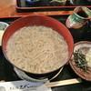 そば処 上代 - 料理写真:そば処上代・田舎そば かまあげ(大盛)¥1,200(2014.04)