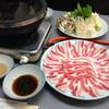 万十屋 - 料理写真:黒豚しゃぶしゃぶ食べ放題
