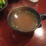 29223960 - セットのスープ