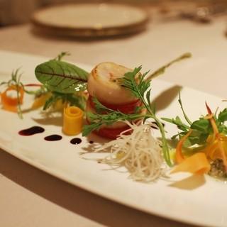 WITH - 料理写真:再訪:北海道産帆立貝のソテーサラダ仕立て☆