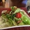 curry味善 - 料理写真:野菜サラダが出てきます