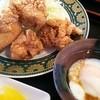 かつ膳 - 料理写真:2014.07とり唐揚げ定食のアップ!
