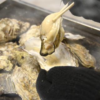 なんばで牡蛎食べ放題!!