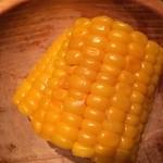 29255060 - この日のお通しは非常にフレッシュなトウモロコシ。素材の甘さが違います。