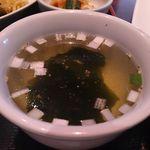 叙々苑 - わかめスープ