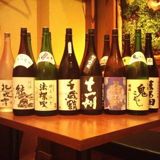 日本酒にもこだわりを