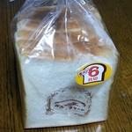 粉とクリーム - 朝食用にきぬまろ食パン 210円