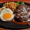 大かつ - 料理写真:ハンバーグステーキ