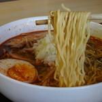 無幻 - 細縮れ麺